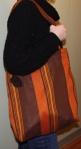 Orange og brunt nett