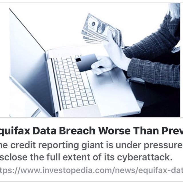 The data breach from Equifax has now informed the Senate Banking Committee that hackers also gained access to customers passport numbers.  Make sure you and your loved ones are protected with IDShield.  http://ift.tt/2o9O4Ph