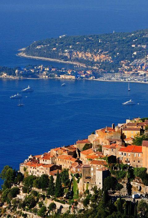 Èze, Villefranche-sur-Mer, Nice, Alpes-Maritimes, Provence-Alpes-Côte d'Azur, France