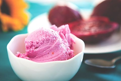 Prickly Pear Ice Cream!