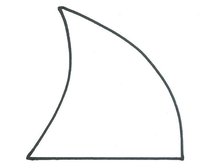 How To Make A Paper Shark Fin