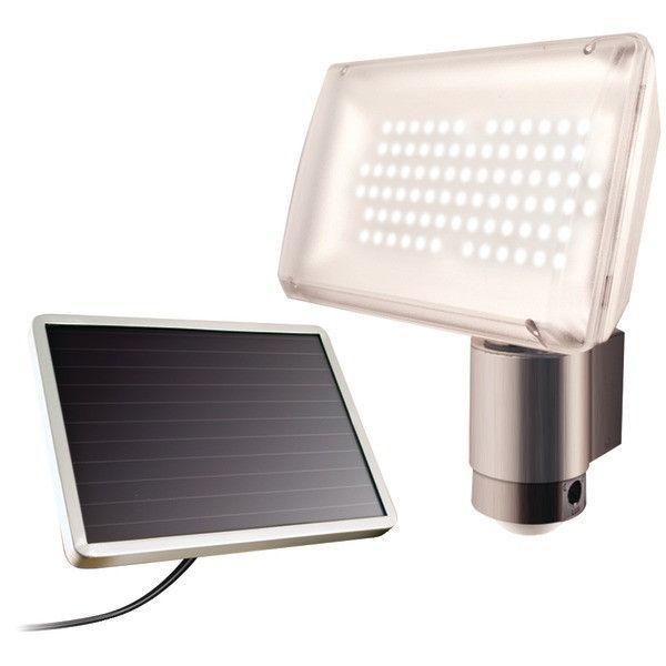 MAXSA Innovations 40227 Motion-Activated Aluminum Solar Security Light