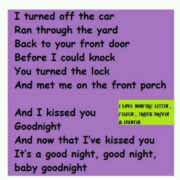Gloriana - (Kissed You) Goodnight Lyrics | MetroLyrics