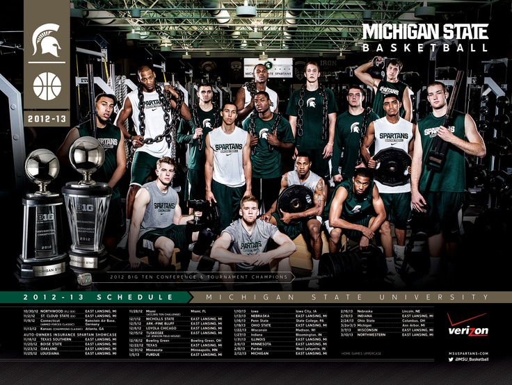 2012-2013 Michigan State Basketball Schedule                                                                                                                                                                                 More