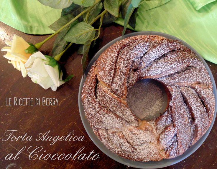 Torta Angelica al Cioccolato - Senza Burro, Latte e Uova