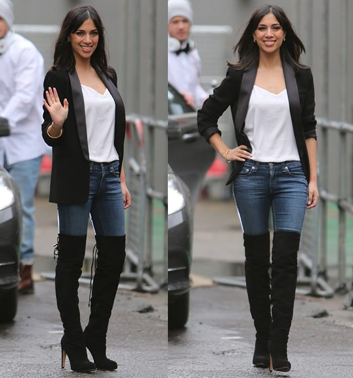 Fiona Wade Over the knee boots in 2019 | Thigh high boots