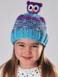 DMC Top This Yarn Owl Hat