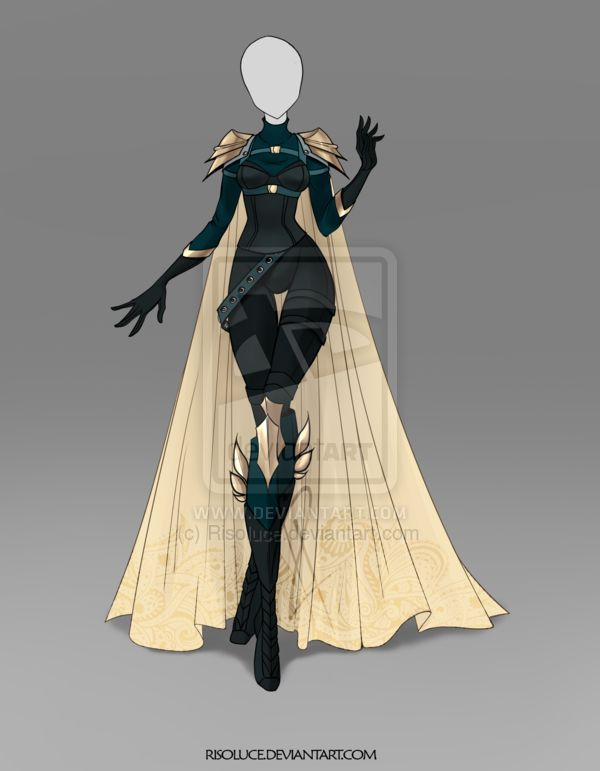 [CLOSED] Raffle Outfit 1 (the 30th list) by Risoluce.deviantart.com on @DeviantArt