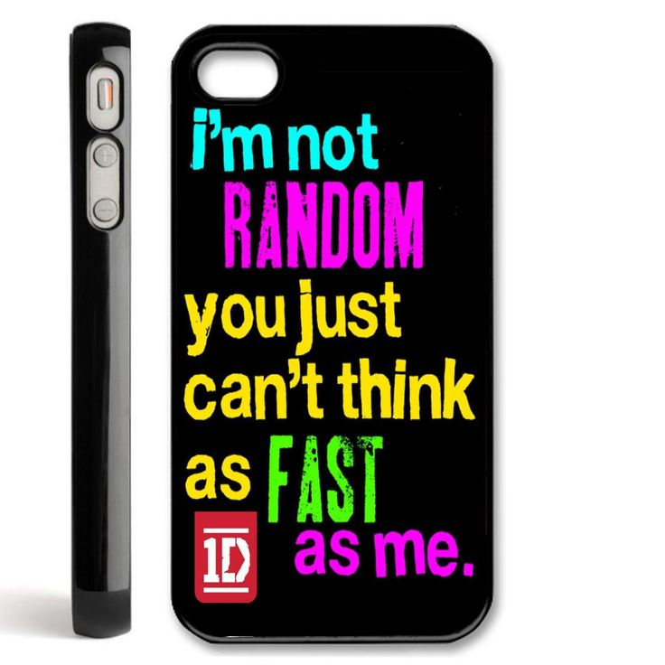 one direction quotes iphone 4 case I so want this!!!!