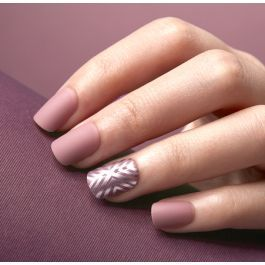 imPRESS Matte Gel Nails and Chrome Design Accents - So Unexpected