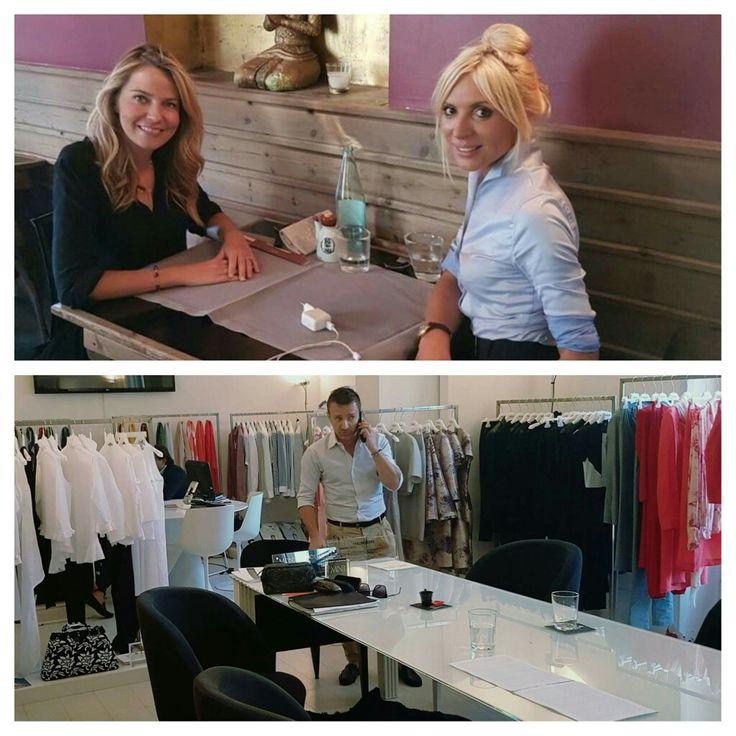 Parlando di Mauro Franchi e della sua collezione con la bella conduttrice e giornalista Alessandra Viero. Stay tuned!