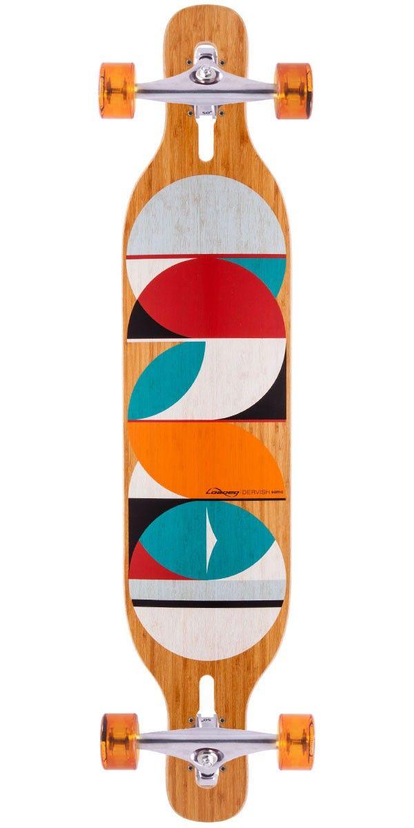 Loaded Dervish Sama Longboard Skateboard Complete