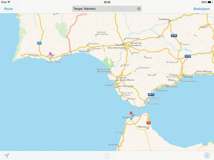 Faro - Gibraltar - Tanger