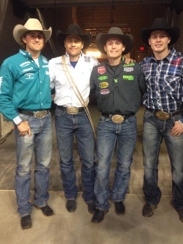 Stetson Vest, Stran Smith, Tuf Cooper and Clif Cooper
