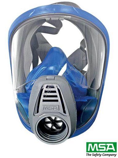 Pełnotwarzowa maska ochronna MSA-MAS-F-ADV3121 - Odzież robocza, obuwie, apteczki, gaśnice, szelki bezpieczeństwa i in.