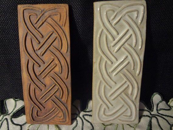 Celtic Knot Pottery Celtic Knot Wall Decor Celtic By