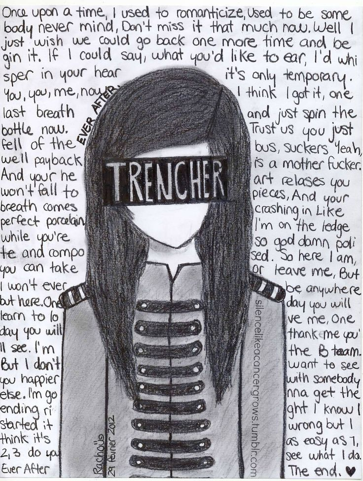 Ever After Chords & Lyrics by Marianas Trench