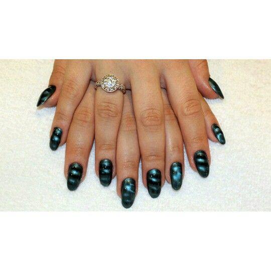 Novela #Império: confira o passo a passo das #unhas da #AdrianaBirolli    #manicure #pedicure #unhasdecoradas #unhasestilomagnéticas    http://bit.ly/15qZr9U