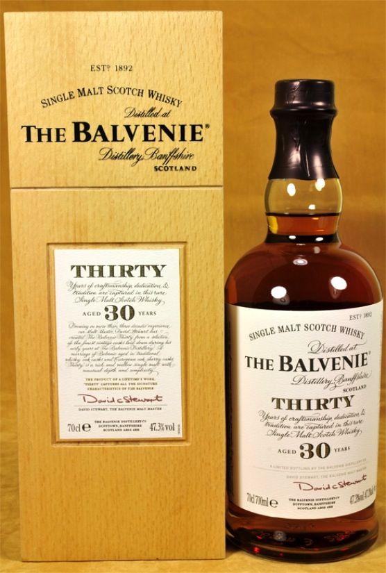 Balvenie Whisky 30 y.o.