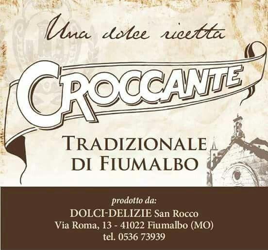 Croccante Tradizionale di Fiumalbo  http://www.croccantedolcidelizie.com/