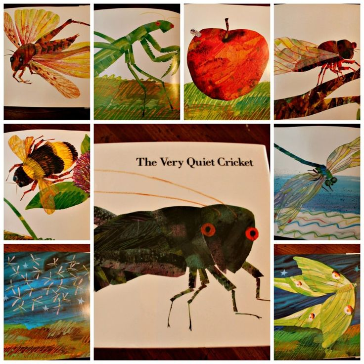 The Very Quiet Cricket {Preschool Activity}