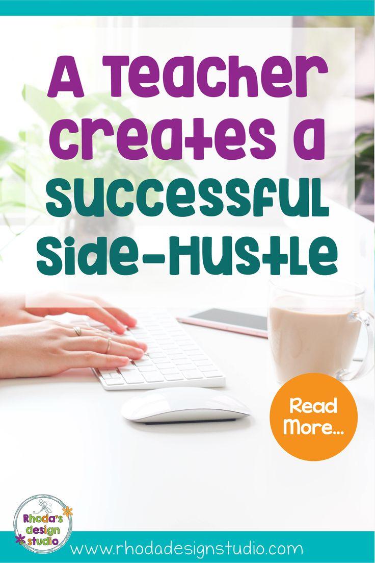 A Teacher Brilliantly Creates Extra Income – Side Hustle Success – Creating a Teacher Blog