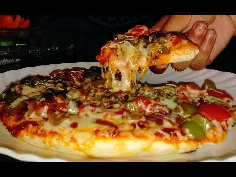 Pizza Recipe In Hindi  Pizza Recipe on Pan  Tawa Pizza Without Oven  Dominos Style pizza - YouTube