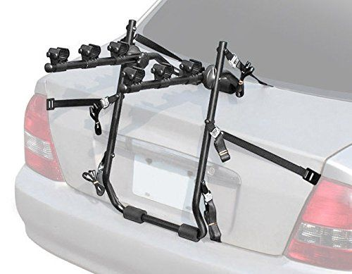 3 Bike Car Universal Carrier Rack Bicycle Rear Racks. Lifetime Warranty and Made in Taiwan. Universal Trunk Bike Carrier: TUV Certification, VZ-F13-001 is compatible with many kinds of car and bicycle, using special design to attach on your Sedan, Hatchback car, even an SUV. Top Tube Compatible: 25mm to 40mm diameter, Six Strap Holding System: With Six different sides holding strap, you can attach the carrier on your car steady for every outdoor situation, Besides, we provide an extremely...