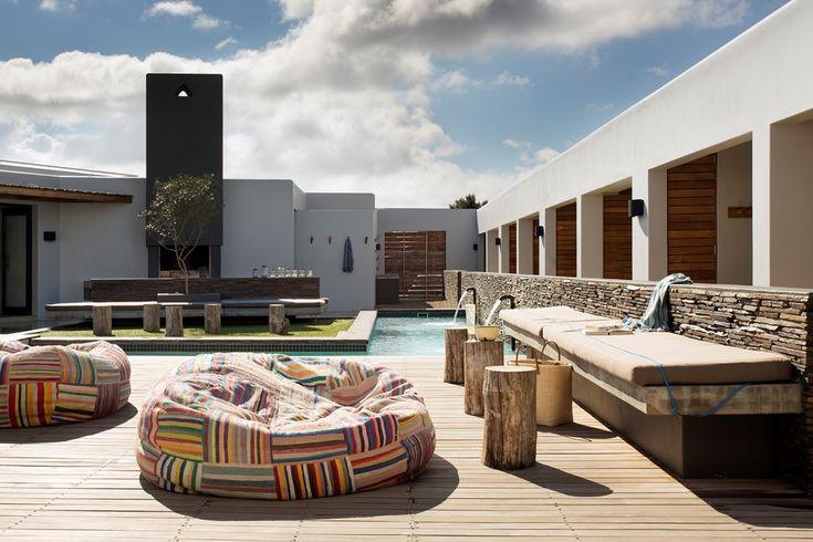 Windtown Langebaan Pool Deck. Interior design by Source Interior Brand Architecture.