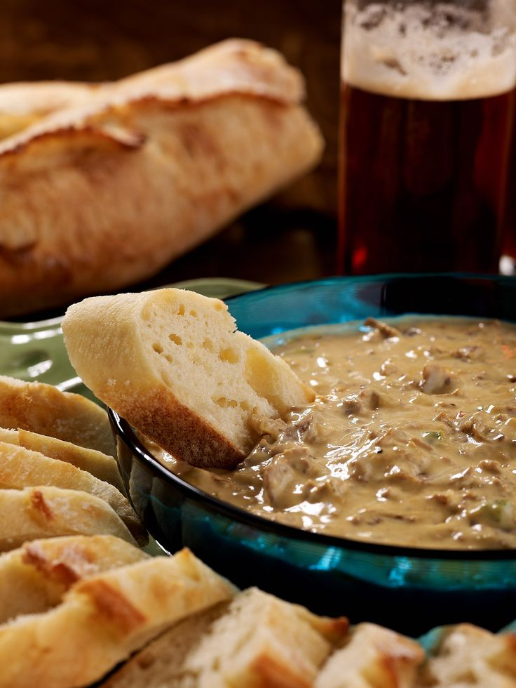 Philly Cheesesteak Dip recipe from David Venable of QVC