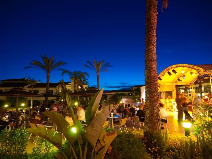 Der ROBINSON Club Playa Granada am Abend