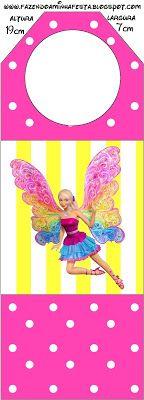 {free} Barbie Fairytopia party printables