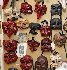 mask commedia dell art