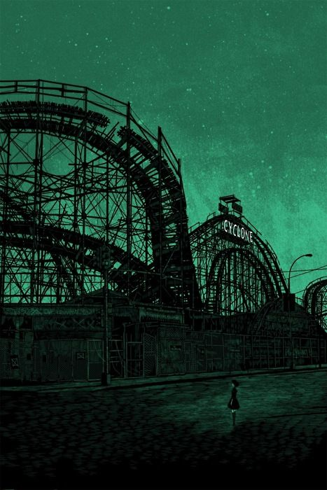 'theme park' by daniel danger