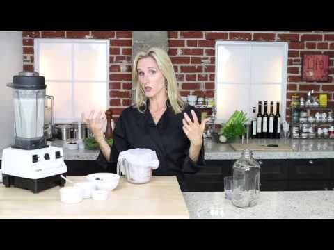 How to Make Almond Milk: Two methods for making almond milk - YouTube