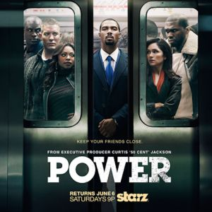 Power on Starz, 50 cent