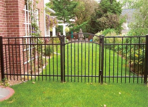 1000 images about fencing on pinterest cheap fence for Garden fencing ideas metal