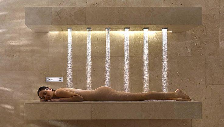 Horizontálna sprcha... Viac na: Kupelnovy-manual.sk