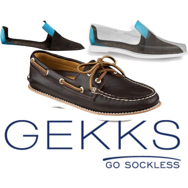 """""""Gekks, Go Sockless"""" meet the ultimate ultra-thin low cut liners that are inserted in your leather shoe and stay put, so you can step in and out of your shoes barefoot confident you will be odorlessly comfortable!"""