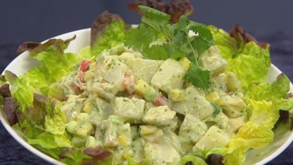 Latin Potato Salad with Avocado, Mango and Chicken | Let's Dish | Main Course | The Live Well Network