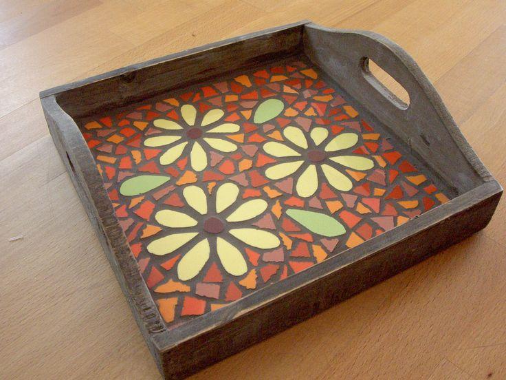 mozaiek dienblad klein