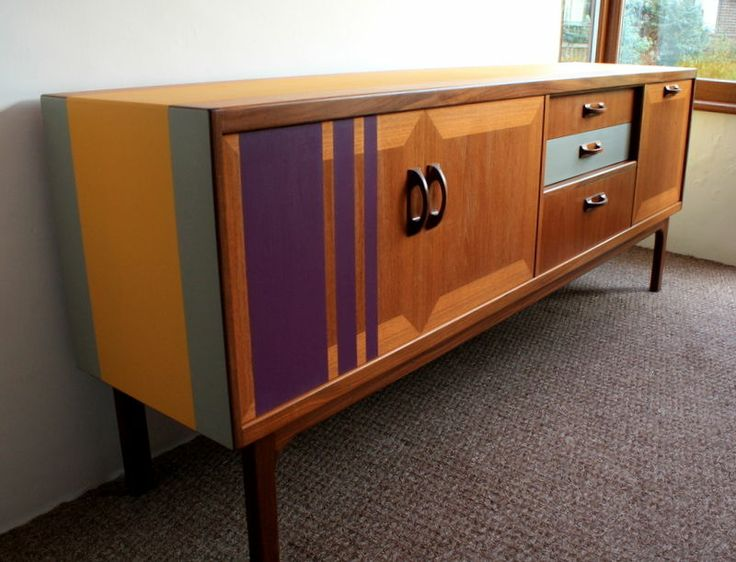 Huge amazing upcycled G-Plan sideboard