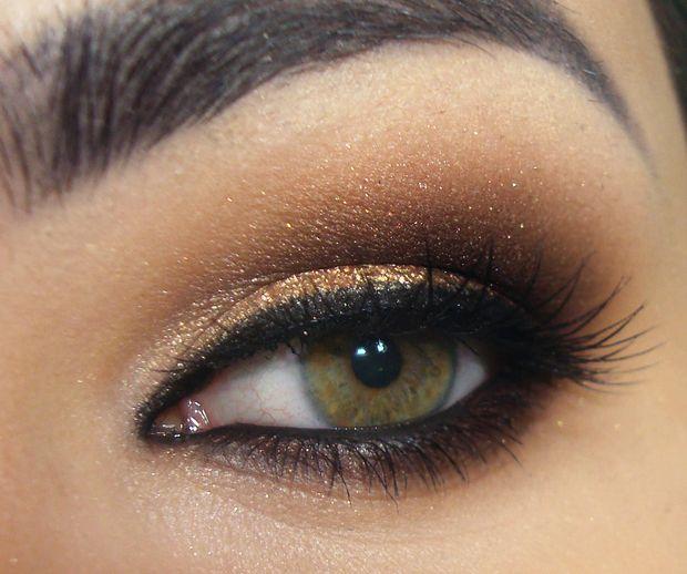 Tutorial – maquiagens dourada e marrom inspirada em Jessie J!