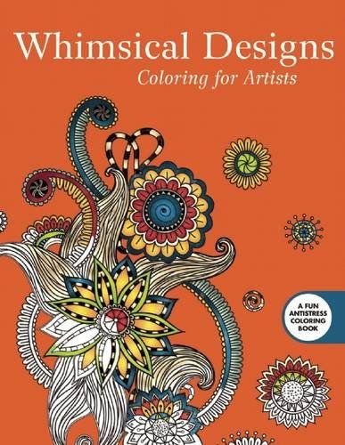 Lovely Publishing A Coloring Book 56 Whimsical Designs Coloring for