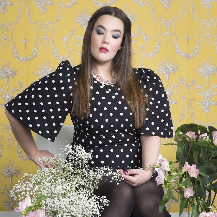 Daniela Polka Dot Dress Photo: Nanna Hänninen Make up: Satu Arvo Model: Ninja Sarasalo
