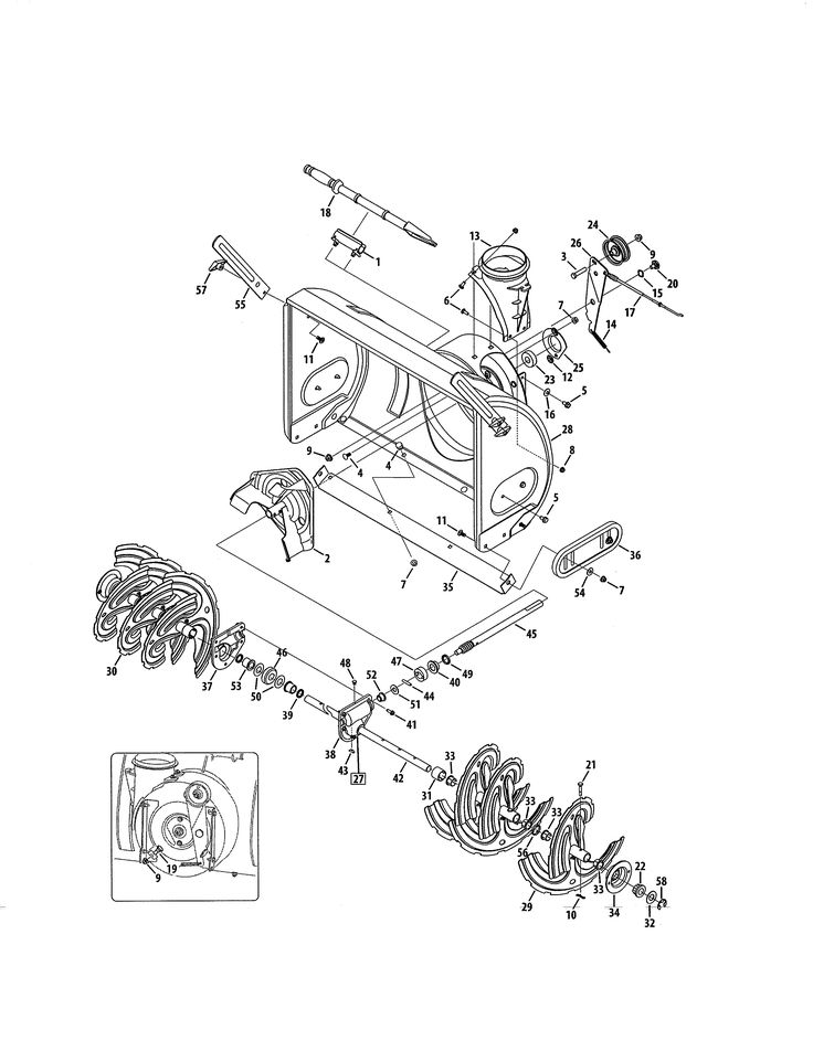 53 best Get Parts For Your Craftsman Snow Blower images on