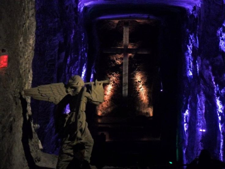 Pronto!  Salt Cathedral – Bogota - Only in South America