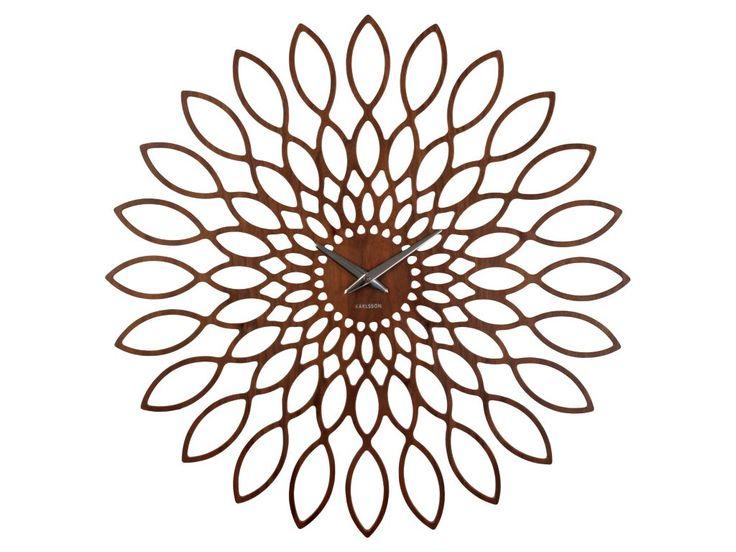 Zegar ścienny Sunflower KWIAT by Karlsson