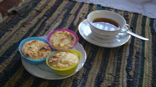 Muffins sin harina ni azúcar