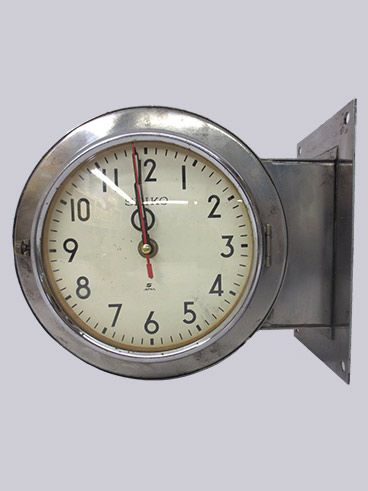 Unique Two Sided Hanging Wall Clock
